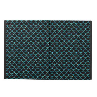 SCALES1 BLACK MARBLE & BLUE-GREEN WATER CASE FOR iPad AIR