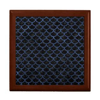 SCALES1 BLACK MARBLE & BLUE STONE GIFT BOX