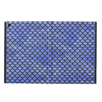 SCALES1 BLACK MARBLE & BLUE WATERCOLOR (R) iPad AIR COVER