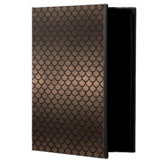 SCALES1 BLACK MARBLE & BRONZE METAL (R) POWIS iPad AIR 2 CASE