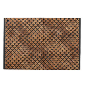 SCALES1 BLACK MARBLE & BROWN STONE (R) iPad AIR COVER