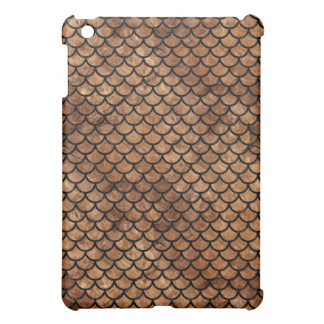 SCALES1 BLACK MARBLE & BROWN STONE (R) iPad MINI CASES