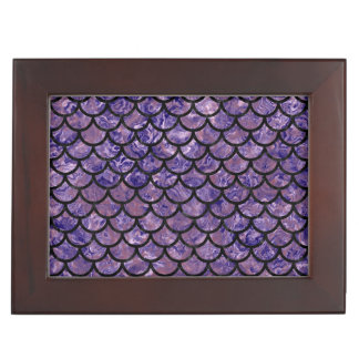 SCALES1 BLACK MARBLE & PURPLE MARBLE (R) MEMORY BOXES