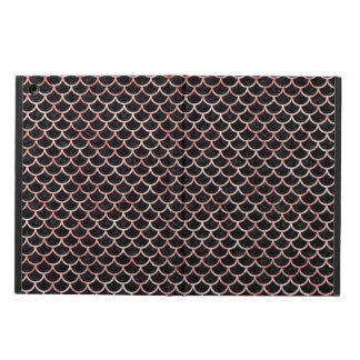 SCALES1 BLACK MARBLE & RED & WHITE MARBLE COVER FOR iPad AIR