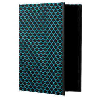 SCALES1 BLACK MARBLE & TURQUOISE MARBLE POWIS iPad AIR 2 CASE