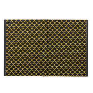 SCALES1 BLACK MARBLE & YELLOW MARBLE COVER FOR iPad AIR