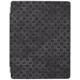 SCALES2 BLACK MARBLE & BLACK WATERCOLOR iPad COVER