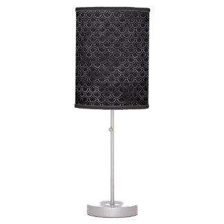 SCALES2 BLACK MARBLE & BLACK WATERCOLOR TABLE LAMP