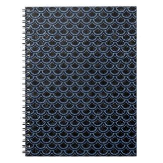 SCALES2 BLACK MARBLE & BLUE DENIM NOTEBOOKS