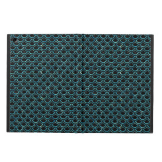 SCALES2 BLACK MARBLE & BLUE-GREEN WATER CASE FOR iPad AIR