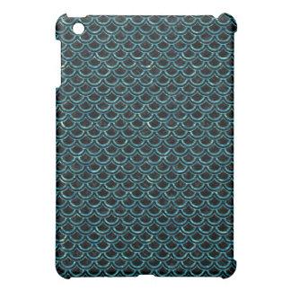 SCALES2 BLACK MARBLE & BLUE-GREEN WATER iPad MINI CASE