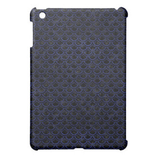SCALES2 BLACK MARBLE & BLUE LEATHER iPad MINI CASES