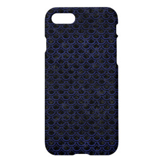 SCALES2 BLACK MARBLE & BLUE LEATHER iPhone 8/7 CASE