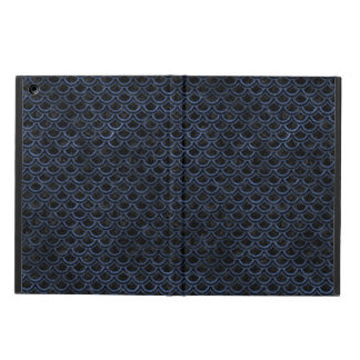 SCALES2 BLACK MARBLE & BLUE STONE COVER FOR iPad AIR