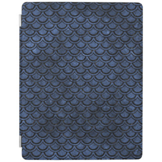 SCALES2 BLACK MARBLE & BLUE STONE (R) iPad COVER