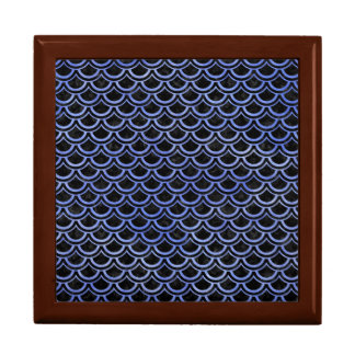 SCALES2 BLACK MARBLE & BLUE WATERCOLOR GIFT BOX