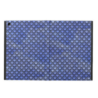 SCALES2 BLACK MARBLE & BLUE WATERCOLOR (R) iPad AIR COVER