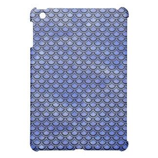 SCALES2 BLACK MARBLE & BLUE WATERCOLOR (R) iPad MINI CASE