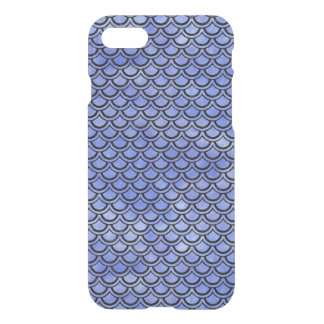 SCALES2 BLACK MARBLE & BLUE WATERCOLOR (R) iPhone 8/7 CASE