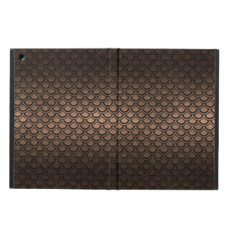 SCALES2 BLACK MARBLE & BRONZE METAL (R) CASE FOR iPad AIR