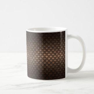 SCALES2 BLACK MARBLE & BRONZE METAL (R) COFFEE MUG