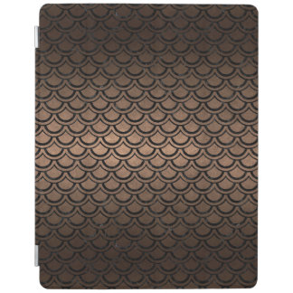 SCALES2 BLACK MARBLE & BRONZE METAL (R) iPad COVER