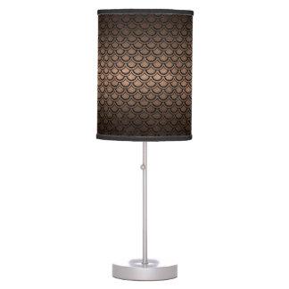 SCALES2 BLACK MARBLE & BRONZE METAL (R) TABLE LAMP