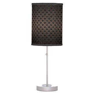 SCALES2 BLACK MARBLE & BRONZE METAL TABLE LAMP