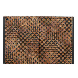 SCALES2 BLACK MARBLE & BROWN STONE (R) iPad AIR COVER