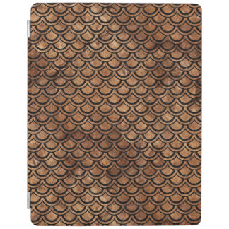 SCALES2 BLACK MARBLE & BROWN STONE (R) iPad COVER
