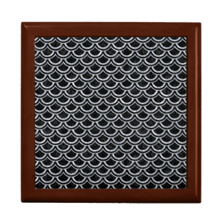 SCALES2 BLACK MARBLE & GRAY MARBLE JEWELRY BOXES