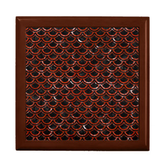 SCALES2 BLACK MARBLE & RED MARBLE GIFT BOX