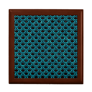 SCALES2 BLACK MARBLE & TURQUOISE MARBLE GIFT BOX