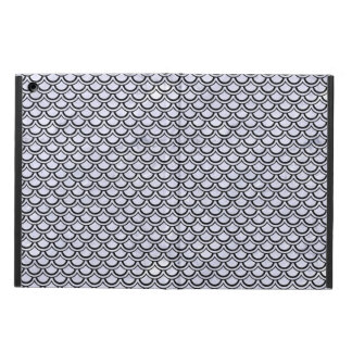 SCALES2 BLACK MARBLE & WHITE MARBLE (R) COVER FOR iPad AIR