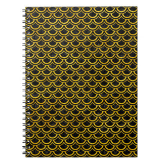 SCALES2 BLACK MARBLE & YELLOW MARBLE NOTEBOOKS