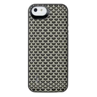 SCALES3 BLACK MARBLE & BEIGE LINEN iPhone SE/5/5s BATTERY CASE