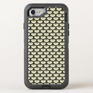 SCALES3 BLACK MARBLE & BEIGE LINEN (R) OtterBox DEFENDER iPhone 8/7 CASE