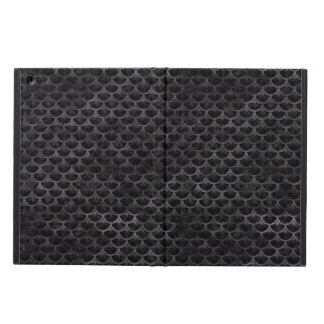 SCALES3 BLACK MARBLE & BLACK WATERCOLOR CASE FOR iPad AIR