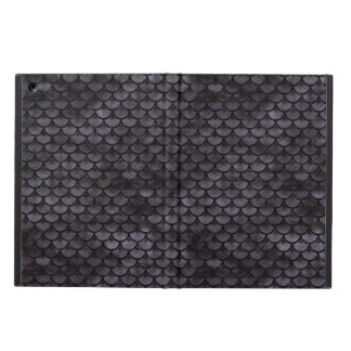 SCALES3 BLACK MARBLE & BLACK WATERCOLOR (R) iPad AIR COVER