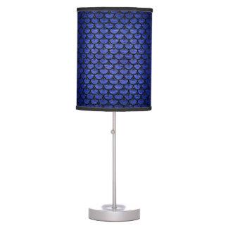 SCALES3 BLACK MARBLE & BLUE BRUSHED METAL (R) TABLE LAMP