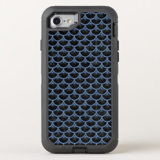 SCALES3 BLACK MARBLE & BLUE DENIM OtterBox DEFENDER iPhone 8/7 CASE