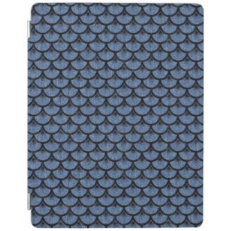 SCALES3 BLACK MARBLE & BLUE DENIM (R) iPad COVER