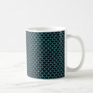 SCALES3 BLACK MARBLE & BLUE-GREEN WATER COFFEE MUG