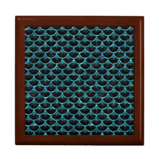SCALES3 BLACK MARBLE & BLUE-GREEN WATER GIFT BOX