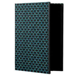 SCALES3 BLACK MARBLE & BLUE-GREEN WATER POWIS iPad AIR 2 CASE