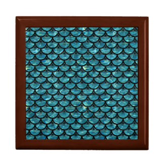 SCALES3 BLACK MARBLE & BLUE-GREEN WATER (R) GIFT BOX