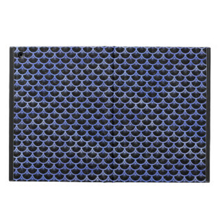 SCALES3 BLACK MARBLE & BLUE WATERCOLOR iPad AIR CASE