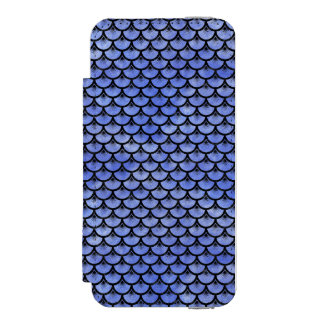 SCALES3 BLACK MARBLE & BLUE WATERCOLOR (R) INCIPIO WATSON™ iPhone 5 WALLET CASE