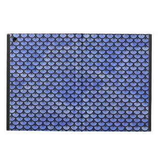 SCALES3 BLACK MARBLE & BLUE WATERCOLOR (R) iPad AIR CASE