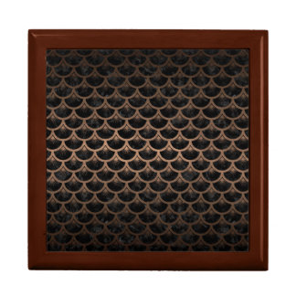 SCALES3 BLACK MARBLE & BRONZE METAL GIFT BOX